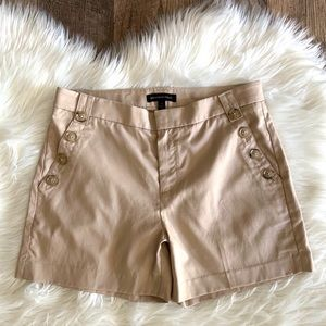 NWOT Banana Republic Beige Tencel/Cotton Shorts
